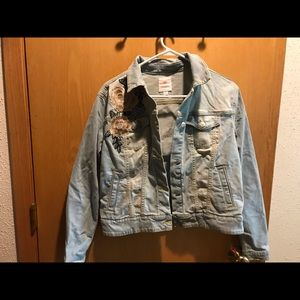 Rose Harvey jean jacket